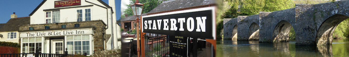 Welcome to Staverton & Landscove in Devon
