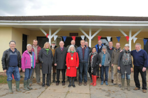 Nature reserve opening