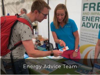 Energy advice team